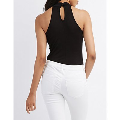 Flawless Mock Neck Bodysuit