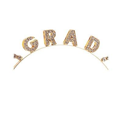 Embellished Grad Cat Ear Headband