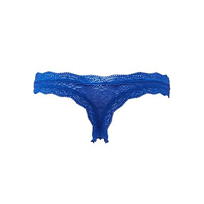Crochet Lace Thong Panties