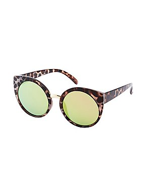 7a871f23af Oversized Cat Eye Aviator Sunglasses