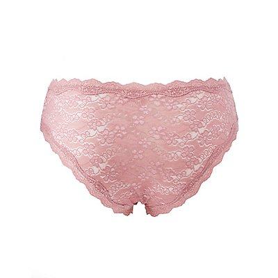Plus Size Scalloped Lace Cheeky Panties