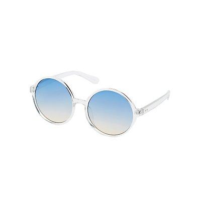Oversize Round Sunglasses
