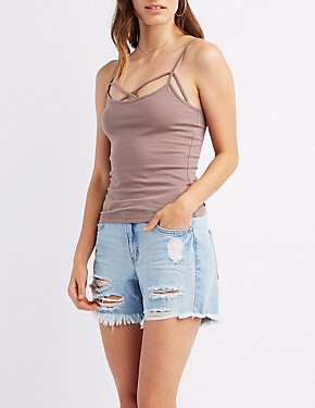 Caged Cami Tank Top