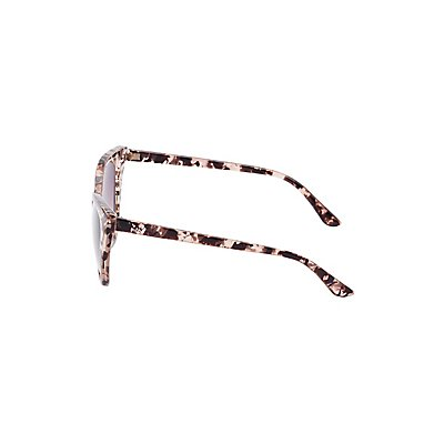 Marbled Cat Eye Sunglasses