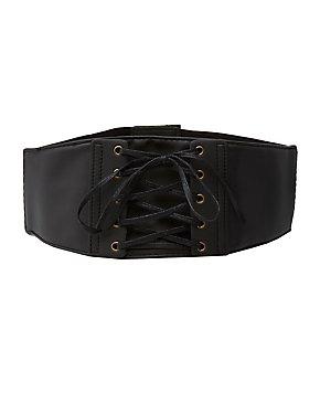 Plus Size Corset Stretch Waist Belt