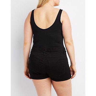 Plus Size Sunkissed Graphic Bodysuit