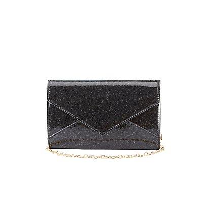 Glitter Envelope Crossbody Bag