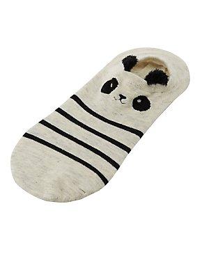 Striped Panda Shoe Liners