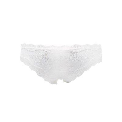 Cross-Dye Lace Hipster Panties