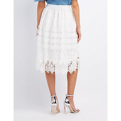 Crochet Full Midi Skirt