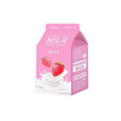 A'pieu Strawberry Milk Face Mask