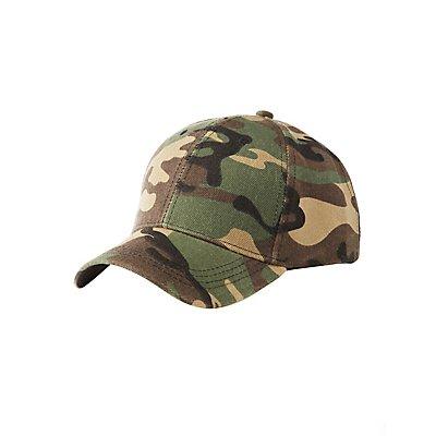 Camo Printed Baseball Hat