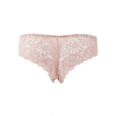Caged Lace Cheeky Panties