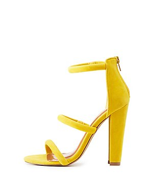 Tubular Three-Piece Sandals
