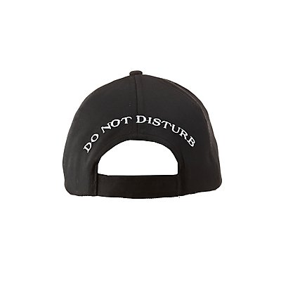 Do Not Disturb Baseball Hat