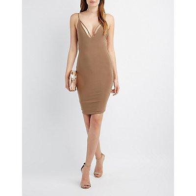 Strappy Backless Bodycon Dress