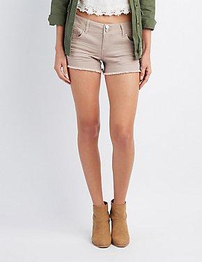 Refuge Mid-Rise Shortie Shorts
