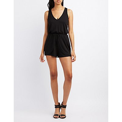 Open Back Tulip Romper