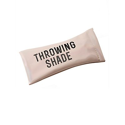 Throwing Shade Holographic Glasses Case