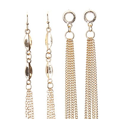 Tassel Earrings - 3 Pack