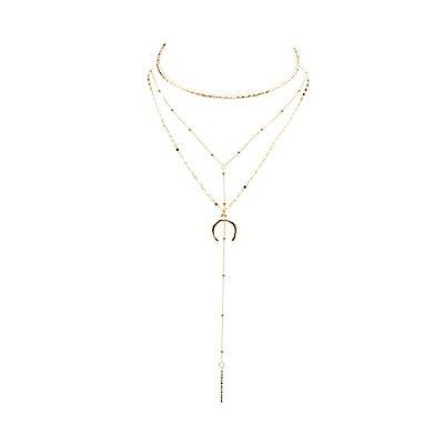 Embellished Choker & Statement Necklaces - 3 Pack