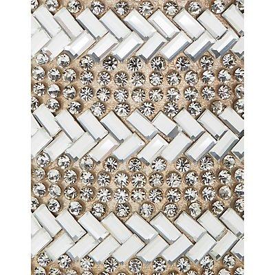 Embellished Chevron Cuff Bracelet