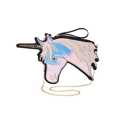 Holographic Unicorn Crossbody Bag