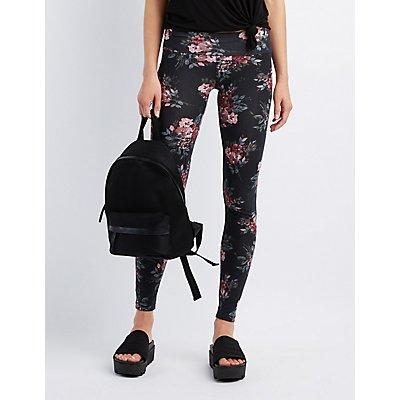 Floral High-Waisted Leggings