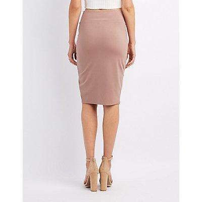 Bodycon Midi Skirt