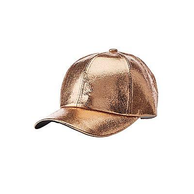 Metallic Baseball Hat