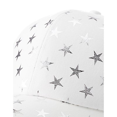 Star Print Baseball Hat