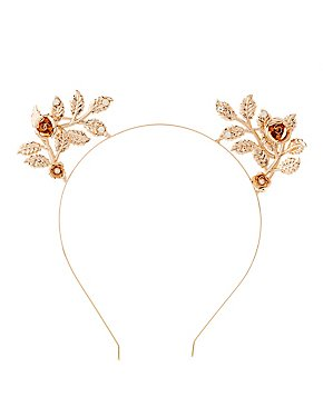 Embellished Floral Headband