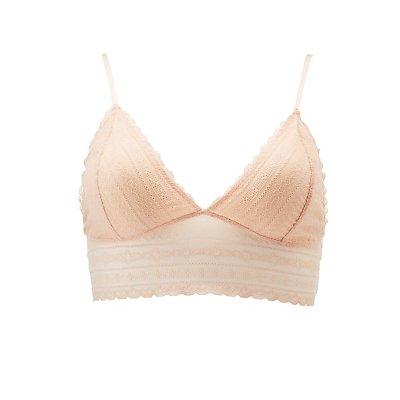 Plus Size Lace Lonline Bralette