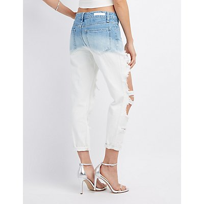 Cello Ombre Destroyed Boyfriend Jeans