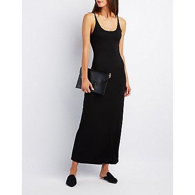 Scoop Back Maxi Dress