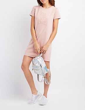Say My Name T-Shirt Dress