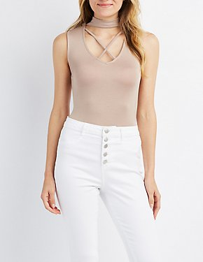 Strappy Choker Neck Top