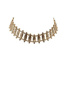 Embellished Choker Necklace