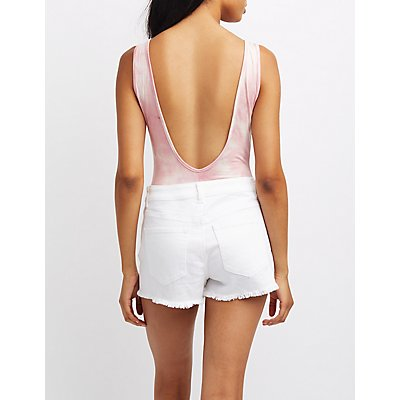 Always On Vacay Backless Bodysuit