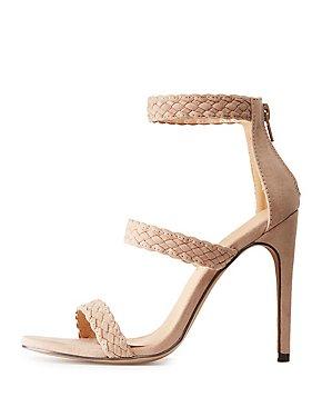 Braided Three-Piece Sandals