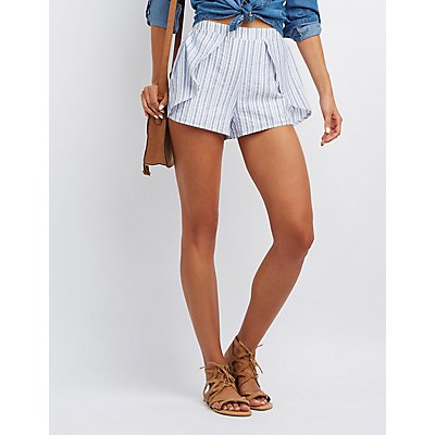 Striped Tulip Shorts