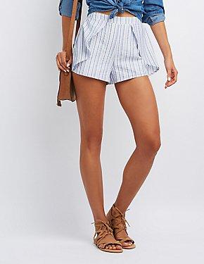 Striped Tulip Shorts