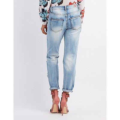 Machine Jeans Destroyed Boyfriend Jeans