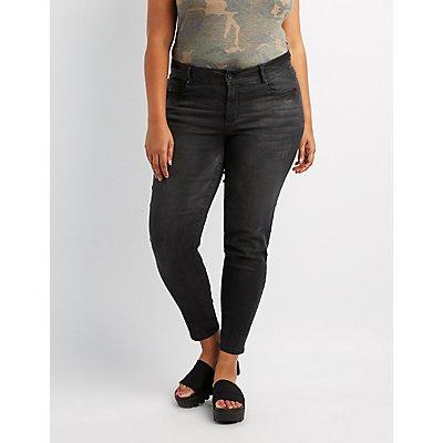 Plus Size Dollhouse Skinny Jeans