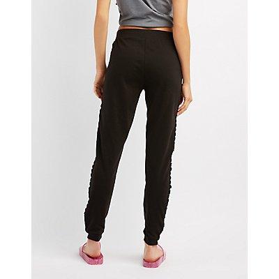 Lace-Up Jogger Pants