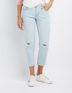 Refuge Distressed Skinny Jeans