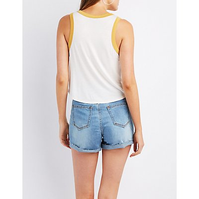 Los Angeles Ringer Tank Top