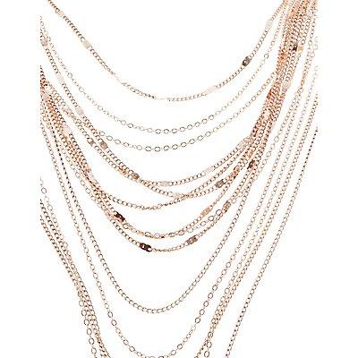 Plus Size Layered Choker Necklace