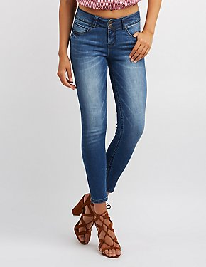 Push-Up Skinny Jeans