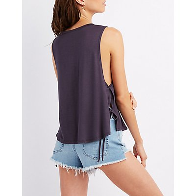 Tie-Side Muscle Tee
